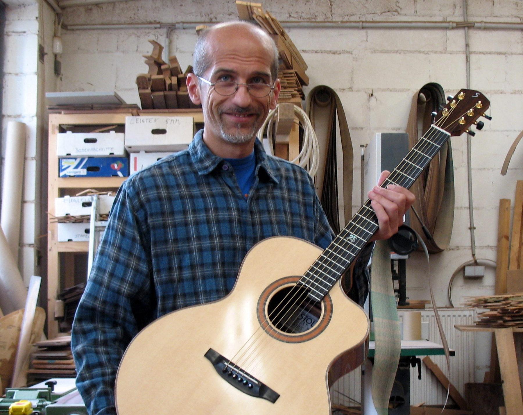 Limited 2008: ...das fertige Instrument.