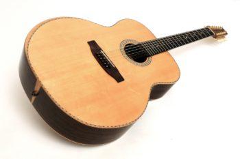 12-saitige 14-bund western gitarre bevel gitarrenbauer christian stoll