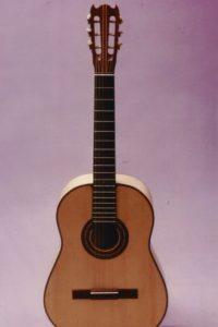 Gitarrenbau Christian Stoll: 1984: Klassikgitarre - Unser Einsteigermodell in den ersten Jahren