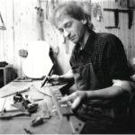 1988 Gitarrenbauer Christian Stoll in Werkstatt