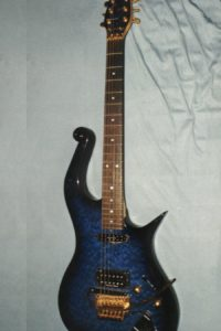 Gitarrenbau Christian Stoll 1993: MIDI-fähige Sonderanfertigung