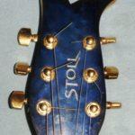 Gitarrenbau Christian Stoll 1993: Sonderanfertigung. Der Kopf zur Midi-Gitarre