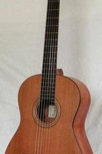 Gitarrenbau Christian Stoll: 2002: Einsteigergitarre Primera - mit Zederndecke