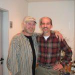 2003 Dezember Christian Stoll und Toni Sheridan