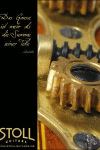 Gitarrenbau Christian Stoll: Werbung 2012 Das Ganze ist mehr als die Summe seiner Teile