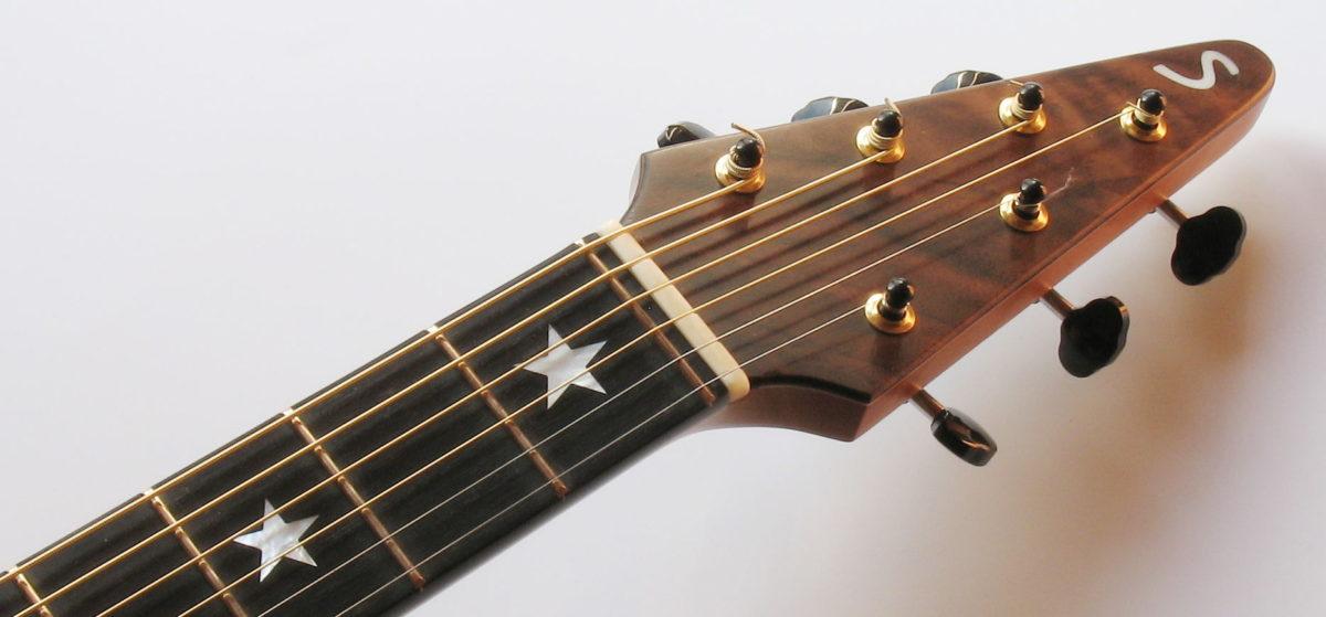 Gitarrenbau Christian Stoll: der Nullbund