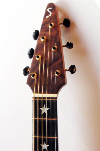 Gitarrenbau Christian Stoll: Ambition Fingerstyle Custom - Kopf mit Nullbund
