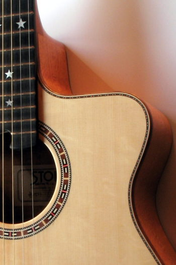 Gitarrenbau Christian Stoll: Ambition Fingerstyle Custom - Rosette