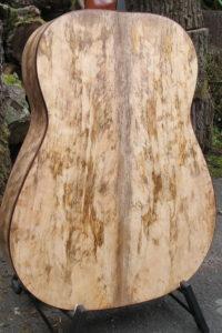 Gitarrenbau Christian Stoll: Western-Gitarre Ambition Mango - Boden