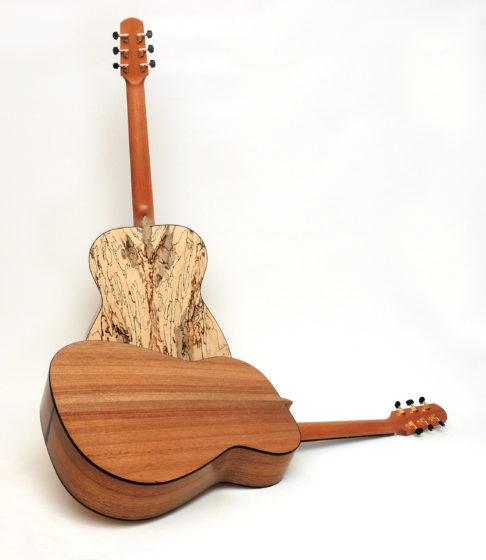 palisanderfreie Gitarre tamarinde moa