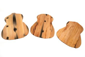 Eiche-Böden Westerngitarre aus Apfelweinfass