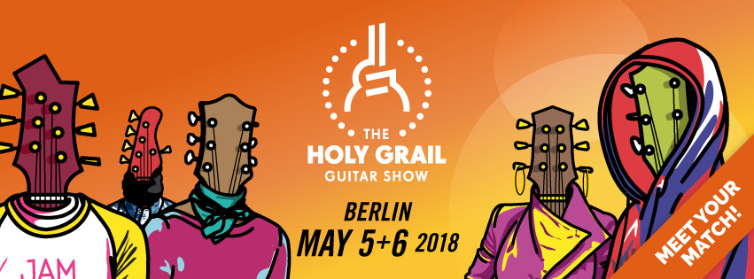 Holy Grail Guitar Show 2018 Gitarrenbauer Christian Stoll