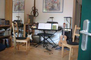 Unterrichtsraum in-tune-musik
