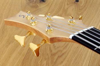 IQ Akustikbass semi-fretless 5-Saiter - Kopf