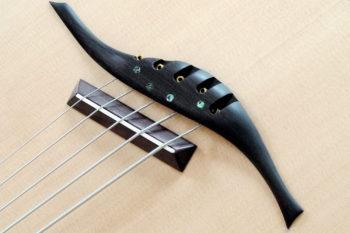 IQ Akustikbass semi-fretless 5-Saiter - Steg