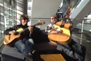 Just Friends Musikmesse 2014 für Stoll Guitars