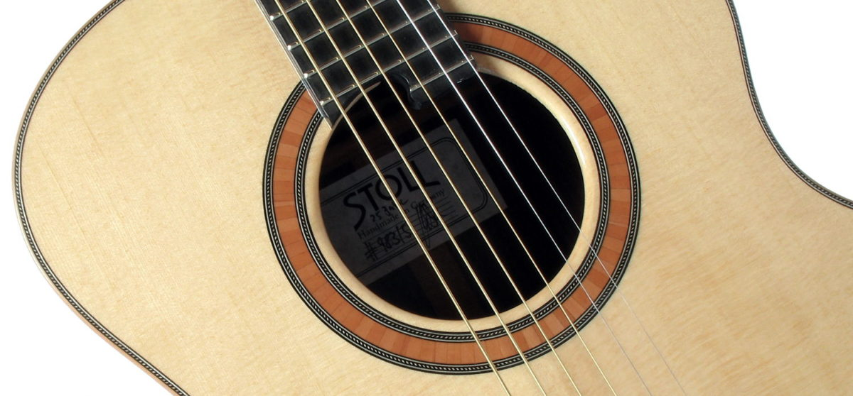 Stahlsaiten-Gitarre Limited 2008 Mini Jumbo Schalloch