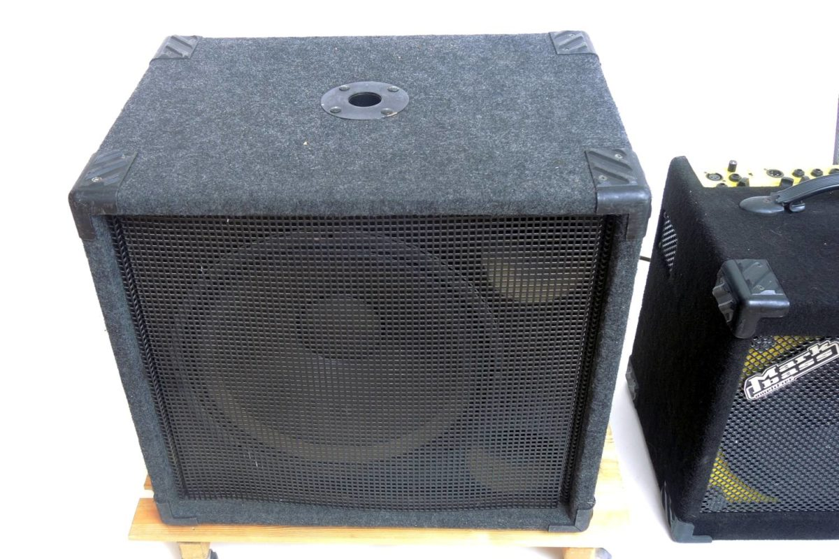 Mark Bass Little Mark und SAD Subwoofer
