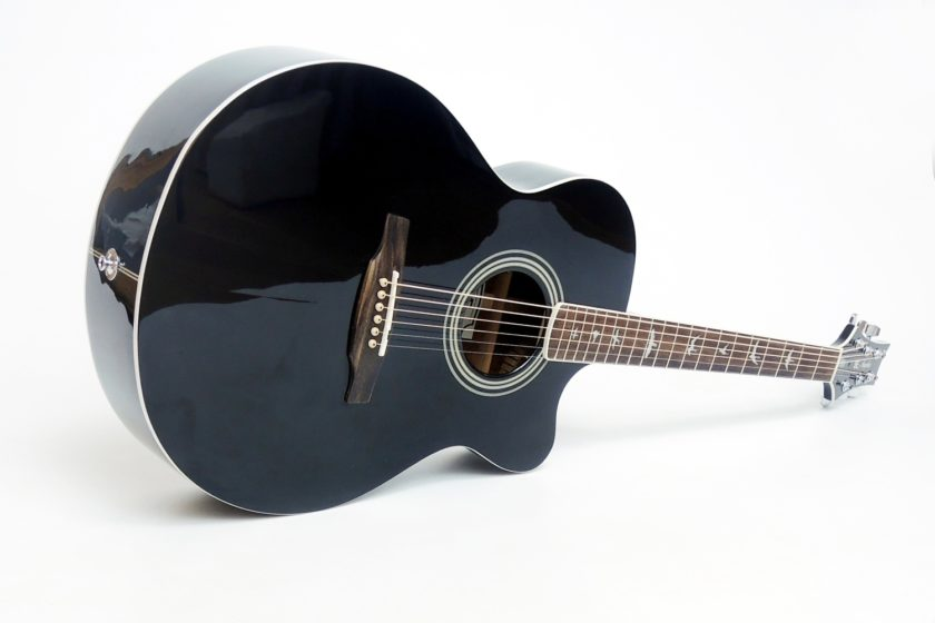 PRS SE Acoustics A10E Angelus Black mit Koffer gebraucht
