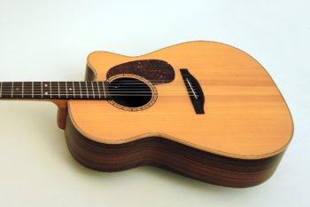 Stoll PT 69 Steelstring gebraucht Stahlsaiten Western Gitarre Cutaway Tonabnehmer