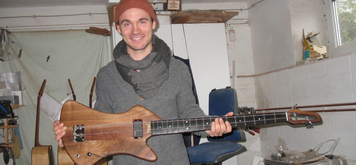 Pierre Pihl mit Stoll Fussbass