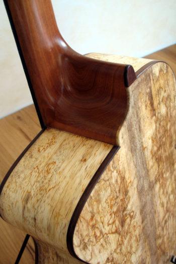 Stahlsaiten-Gitarre Parlour ProCut Doppelzarge Mango