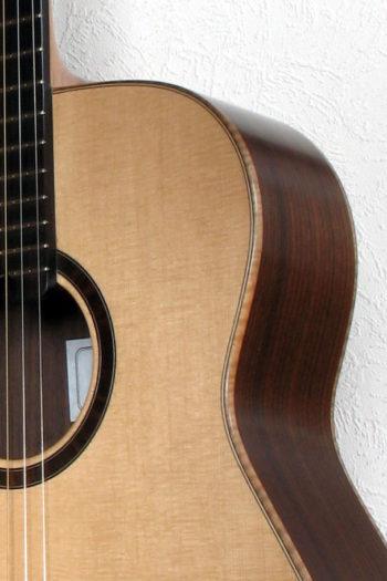 Gitarrenbau Christian Stoll: Westerngitarre Ambition Bariton Palisander Fichte - Zarge