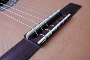 Stegeinlage klassische Gitarre