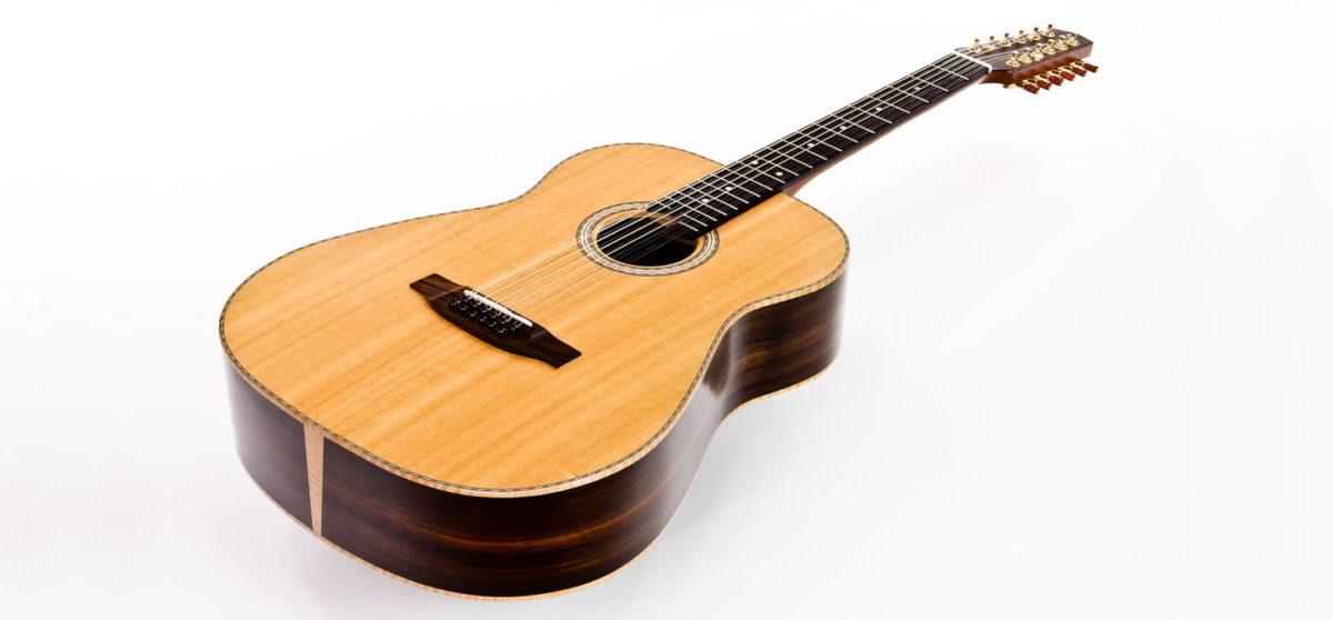 Gitarrenbau Christian Stoll: 12-saitige Western-Gitarre Ambition 12