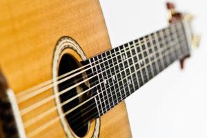 Gitarrenbau Christian Stoll: 12-saitige Stahlsaiten-Gitarre Ambition 12 - Griffbrett