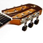 Gitarrenbau Christian Stoll: Steelstring-Gitarre Ambition Parlour - Kopf