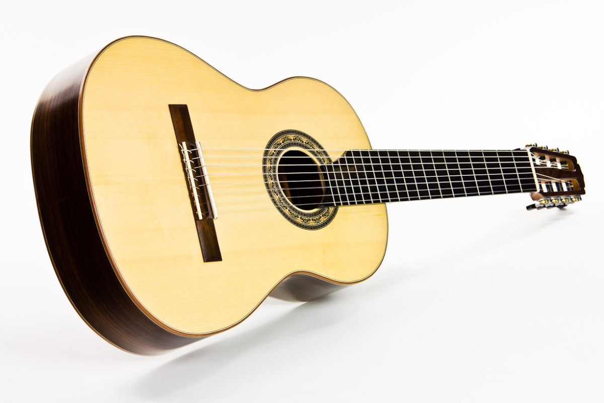 Gitarrenbau Christian Stoll: 8-saitige Konzertgitarre Classic Line I 8-string - Unterbug
