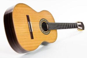 Gitarrenbau Christian Stoll: Konzertgitarre Classic Line I - schräg