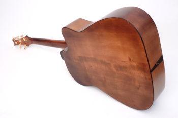 akustik bass fanned frets linkshaender