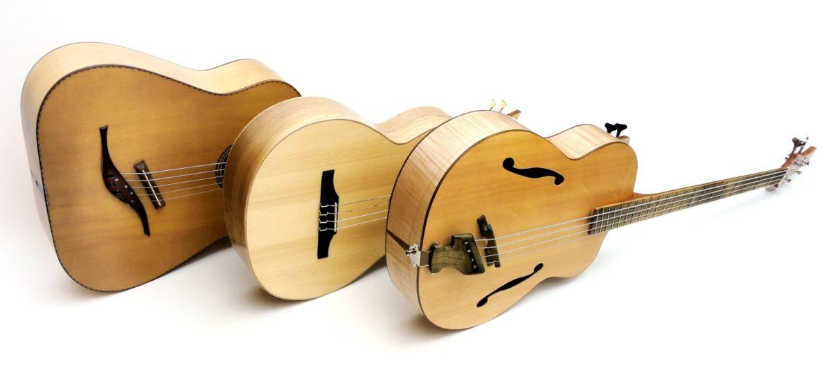 Akustische Bässe Stoll Guitars