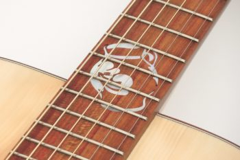 Fingerstyle Gitarre Apfelweinfass Eiche Fichte Kopf Gitarrenbauer Stoll