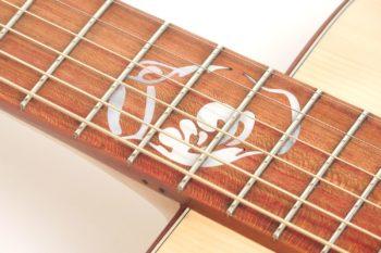 Fingerstyle Gitarre Apfelweinfass Eiche Fichte Einlage Bembel Gitarrenbauer Stoll