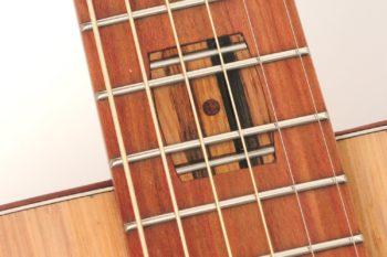Fingerstyle Gitarre Apfelweinfass Volleiche Gitarrenbauer Stoll Inlay