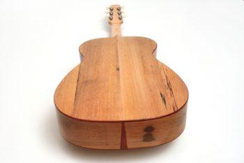 Fingerstyle Gitarre Apfelweinfass Volleiche Boden Gitarrenbauer Stoll
