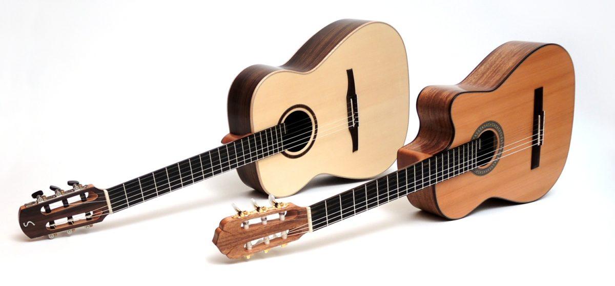 crossover akustik gitarre 14 bund 12 gitarrenbauer stoll