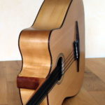 Der legendäre Akustikbass fretless - Cutaway