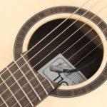 Linkshänder Fanned Fret Westerngitarre K+K Trinity pickup