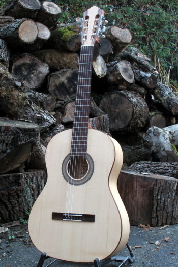 Flamenco Gitarre Primera - Frontal