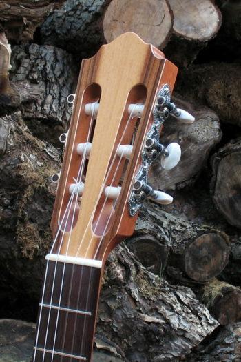 Flamenco Gitarre Primera - Kopf
