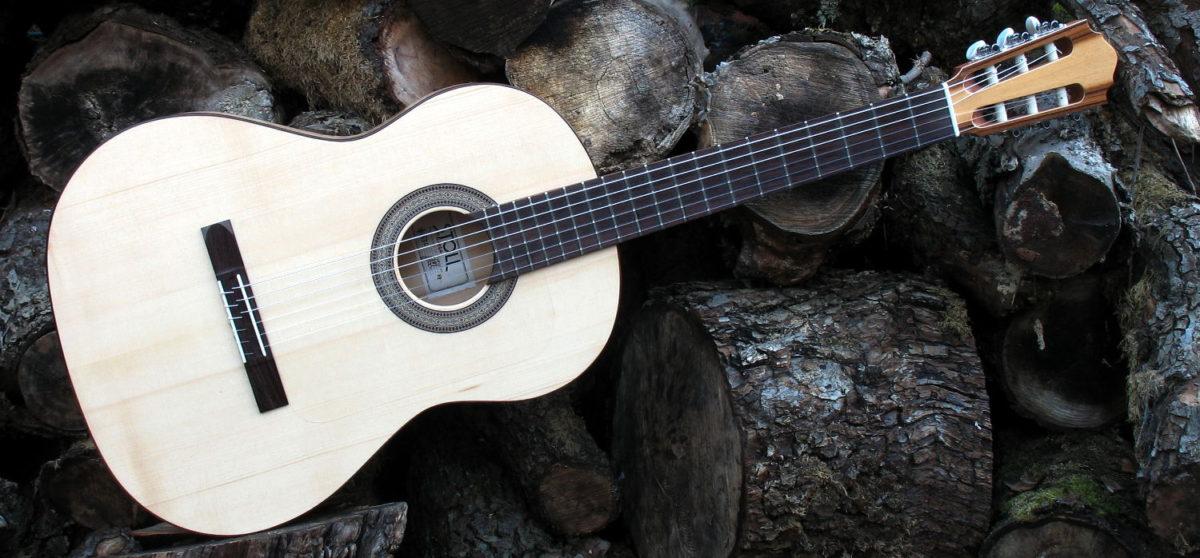 Flamenco Gitarre Primera - quer