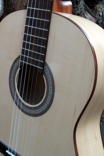 Flamenco Gitarre Primera - Rosette