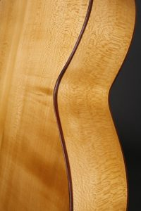 Classic Bass zarge Mensur 75 Gitarrenbauer christian stoll