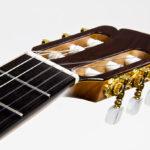 Gitarrenbau Christian Stoll: Klassische Gitarre mit Cutaway Alegra Palisander Fichte - Kopf