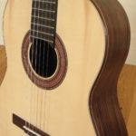 Klassische Gitarre Konzertgitarre Estudio Palisander Fichte - Rosette