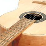 gitarre einheimische hoelzer Kirsche Erle Robinie Fichte klassische konzert Estudio stoll gitarrenbau